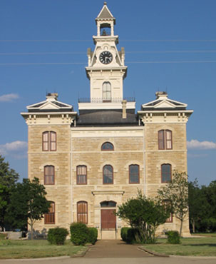 Restored Shackelford County Courthouse