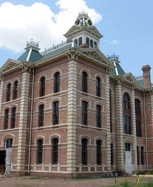 Restored Wharton County Courthouse