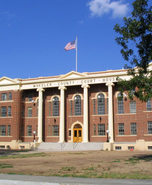Restored Wheeler County Courthouse