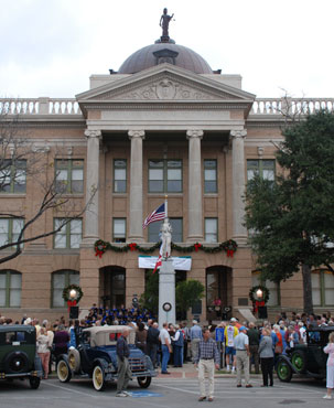 Restored Williamson County Courthouse
