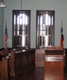 after restoration, Parker County Courthouse