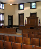 after restoration, Val Verde County Courthouse