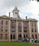 after restoration, Wharton County Courthouse