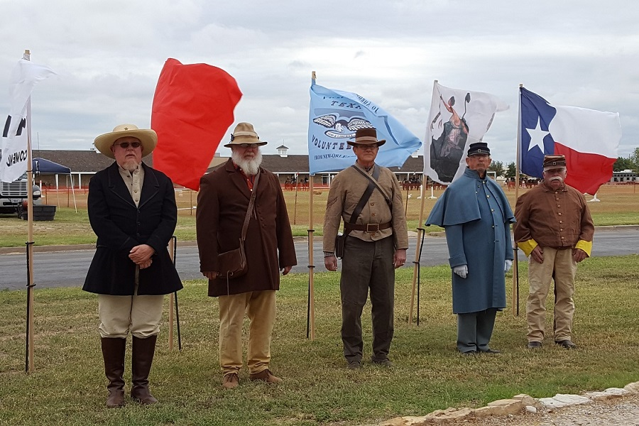 Tom Green CHC at Frontier Day at Fort Concho, photo courtesy of CHC