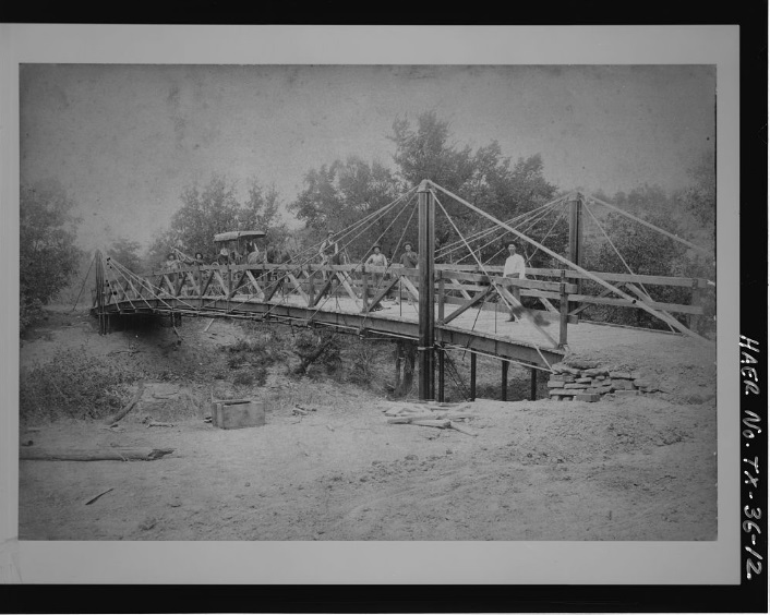 Barton creek bridge thc texas historical for Texas bridge series