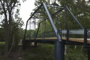 Piano Bridge in Fayette County, photo by Michael Amador for TxDOT