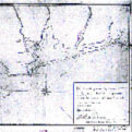 Early French map of Madagorda Bay