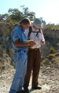 Texas Archeological Stewards in the field