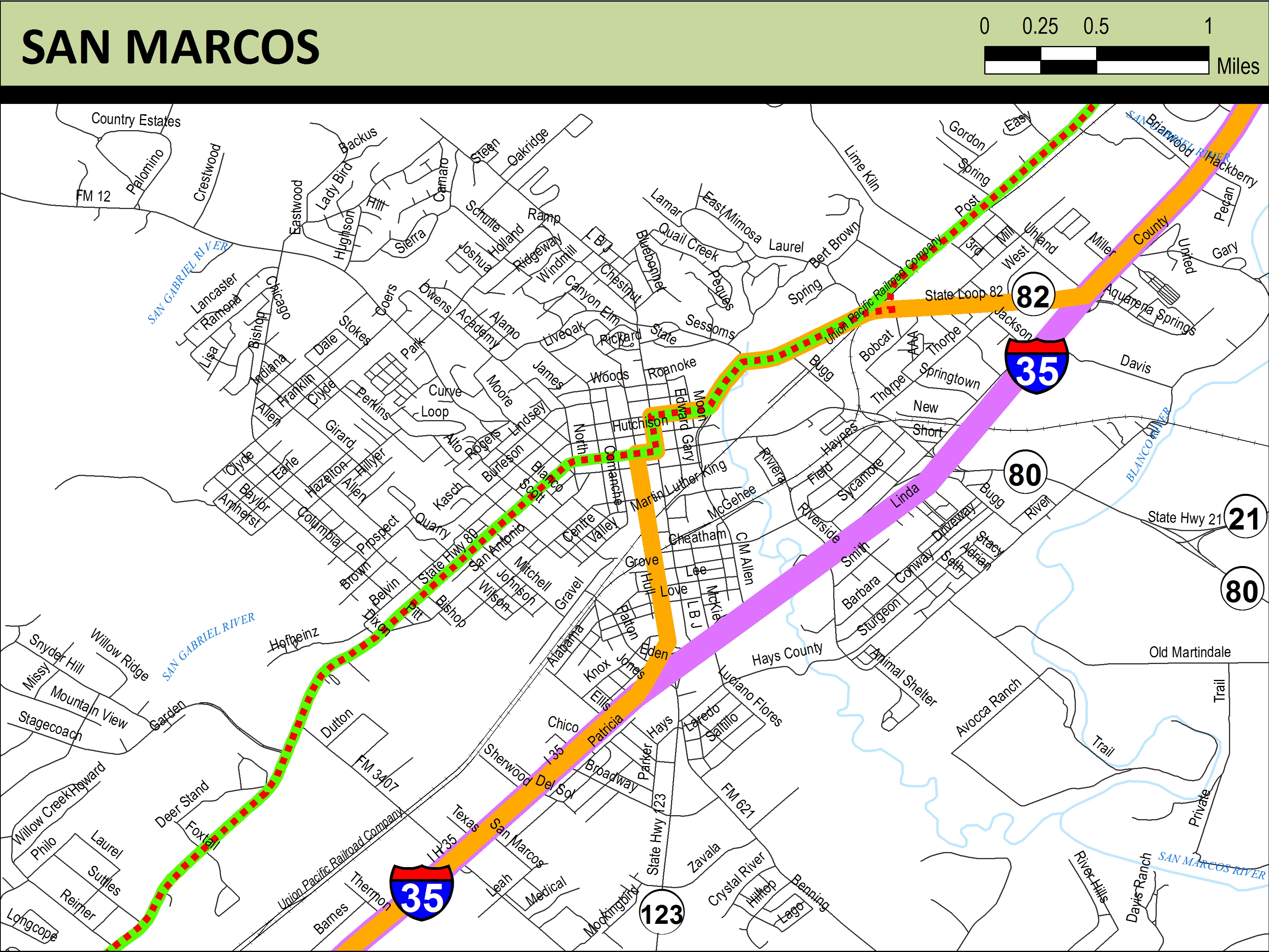 Meridian Highway Maps | THC.Texas.gov - Texas Historical Commission