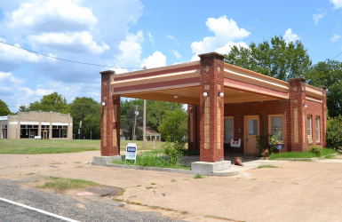 Gas Station, Mount Vernon