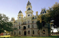 Restored Goliad County Courthouse.