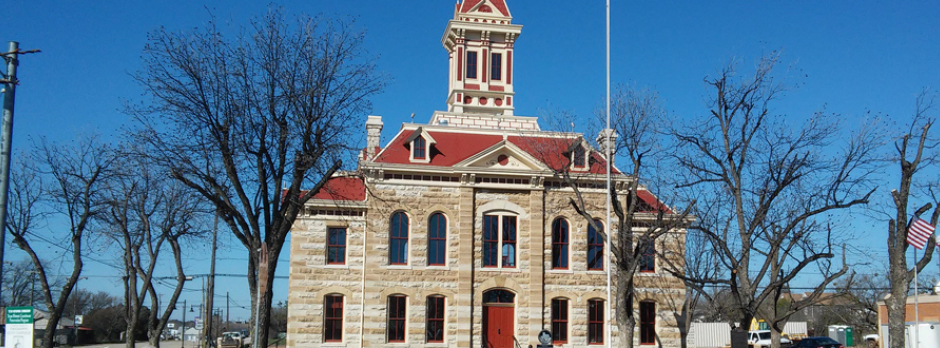 Historic Courthouse of the Month: Throckmorton County