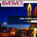 DowntownTX.org website