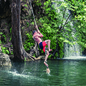 Krause Springs swing