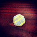 Cloth Singleton button