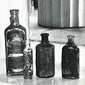 Photograph of historic bottles