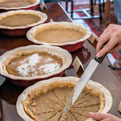 Bake the Old-School Way at the Pumpkin Pie Open-Hearth Cooking Class at Landmark Inn