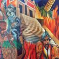 Panamerican Center mural