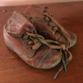 Baby shoes at Sam Rayburn House State Historic Site