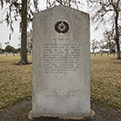 Fort Anahuac marker