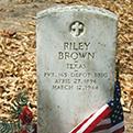 WWI gravestone