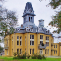 Exterior of the restored Newton County Courthouse. Photo courtesy of Wayne Wendel.