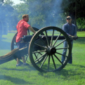 cannon at Confederate Reunion Grounds