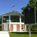 Bandstand at Fannin Battleground State Historic Site