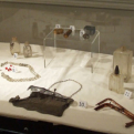Archeological artifacts on display at Sam Rayburn House Museum
