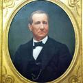 Restored portrait of George Clapp.