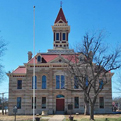 Restored Throckmorton County Courthouse