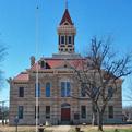 Restored Throckmorton County Courthouse