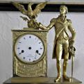 George Washington clock, Varner-Hogg Plantation