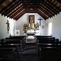 Interior of Mission's La Lomita Chapel