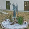Magoffin Home's angel statue