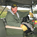 Dennis Boots of the Military Vehicle Preservation Association