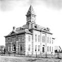 Throckmorton County Courthouse, circa 1890s