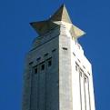 Photo of San Jacinto Monument's star-topped obelisk.