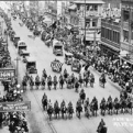 Photo of parade in Fort Worth