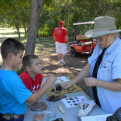 Family Archeology Day at Confederate Reunion Grounds.