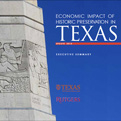 Economic Impact of Historic Preservation in Texas Report