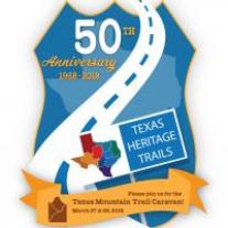 Texas Heritage Trails Anniversary Caravan Logo