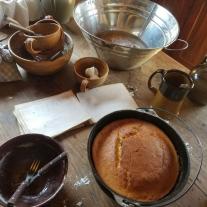cornbread on table