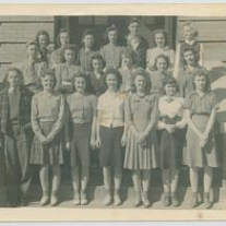 Denison High School Teacher Day, 1941, Pottsboro Public Library