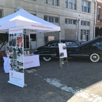 Cadillac at Bonham Heritage Day