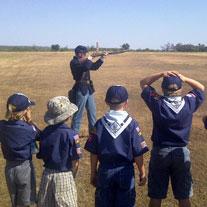 Boy Scouts Rifle Demonstration