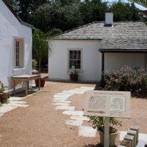Casa Navarro's courtyard.