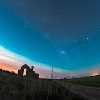 Milky Way Over Ruins