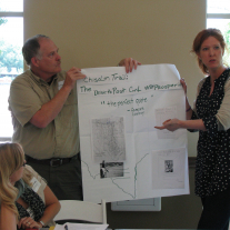 Museum staff learn at a professional development workshop hosted by the THC