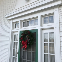 See all the holiday decor at the Sam Rayburn House on December 8